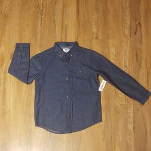 Old Navy Boys Jean styled Dress shirt